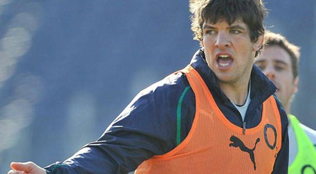 Declan Kidney 'let fly' last Tuesday, says Donncha O'Callaghan