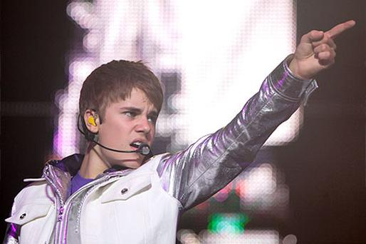 Justin Bieber in concert at the O2, Dublin. Photo: Collins Photo Agency