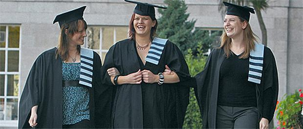 Students celebrate graduation day at Hibernia College