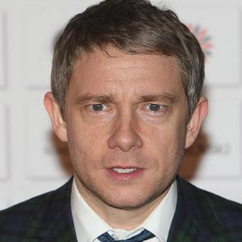 Martin Freeman has been practising for his role in The Hobbit