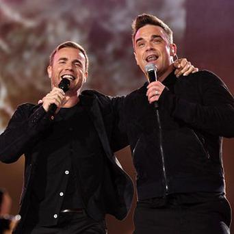 Gary Barlow and Robbie Williams will perform for the Caudwell Children charity