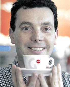David Lawlor hopes to be able to find someone willing to take on a job maintaining his coffee machines