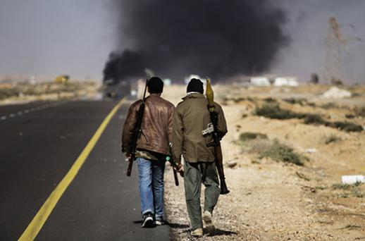 There were continuing fears over oil prices, with Brent climbing 2pc as fighting in Libya worsened. Photo: Getty Images