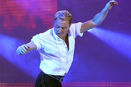Michael Flatley in Michael Flatleys film Lord of the Dance 3D