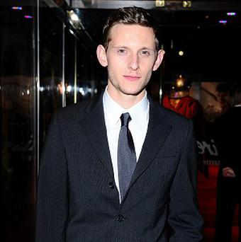 Jamie Bell arrives for the UK premiere of The Eagle