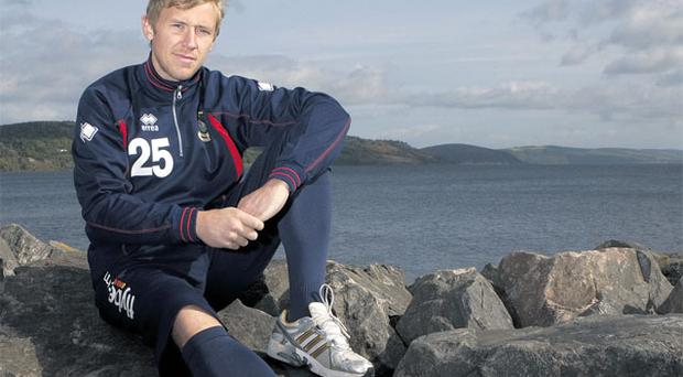 Richie Foran pictured near the home ground of Inverness Caledonian Thistle