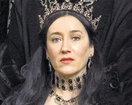 CONSTANT PRINCESS: Katherine of Aragon, portrayed by Maria Doyle Kennedy in the TV series 'The Tudors', becomes more than just a historical figure in Philippa Gregory's book