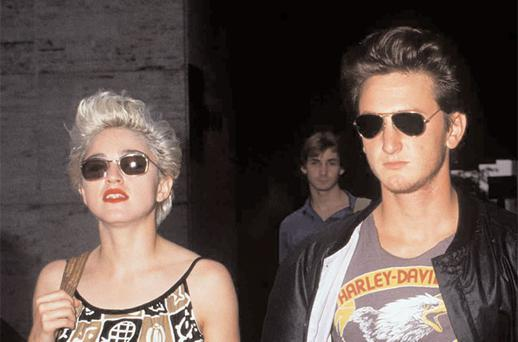 Double Trouble: Sean Penn married Madonna in 1985 but the two's stormy relationship nearly destroyed his career.