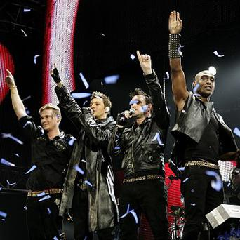 Blue - Lee Ryan, Duncan James, Antony Costa and Simon Webbe - are confident about their Eurovision entry