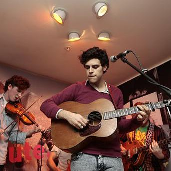 Noah And The Whale's Charlie Fink said he had to write about his split from Laura Marling
