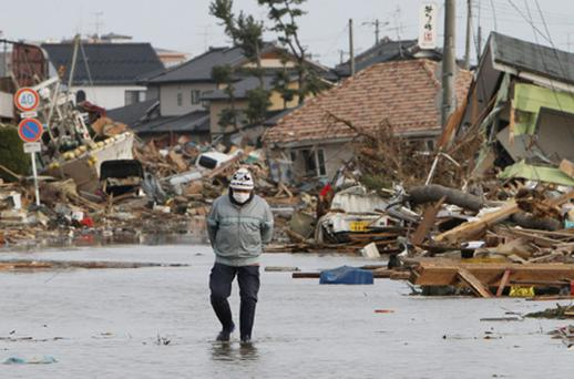 There were continuing fears over the potential economic fallout from Japan's catastrophic earthquake. Photo: Getty Images