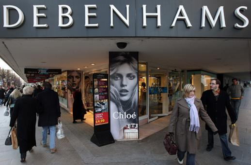 Debenhams has 167 stores in the UK, Ireland and Denmark. Photo: Getty Images