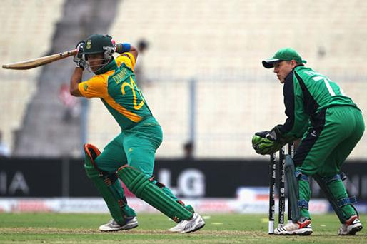 JP Duminy scored a valiant 99. Photo: Getty Images