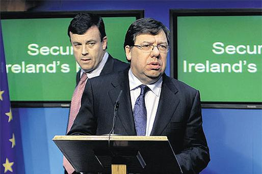 Brian Cowen's already strained relationship with his Finance Minister Brian Lenihan was soured after he learned of his ambitions to lead the party