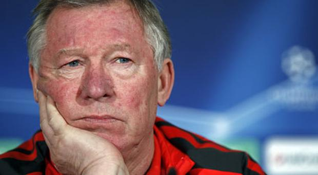 Alex Ferguson has been fined £30,000 by the English FA. Photo: Reuters