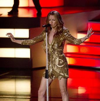 Celine Dion is back for another stint at Caesar's Palace in Las Vegas