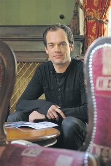 Tea-total: David Mooney founder of alcohol-free club night Funky Seomra. Photo by Dave Meehan