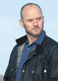 Mark Womack plays an ex-soldier on a mission
