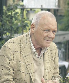 Anthony Hopkins plays a separated dad who chases bimbos