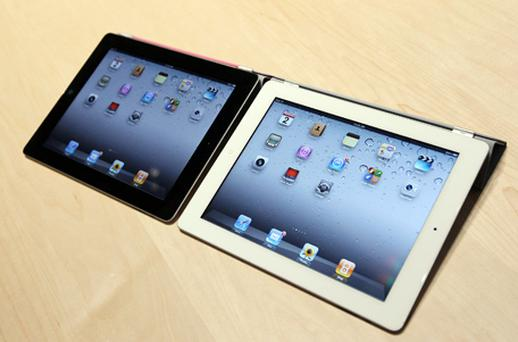 The Apple iPad 2. Photo: Getty Images