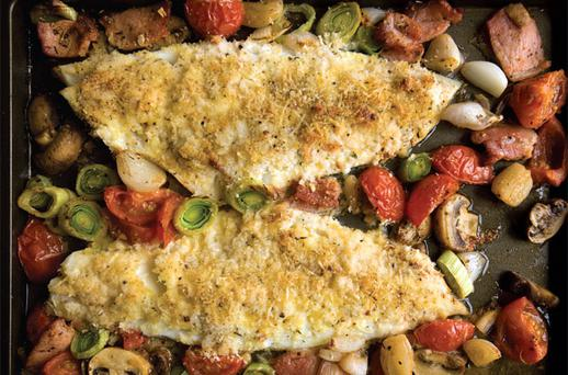 ONE-PAN FISH BAKE
