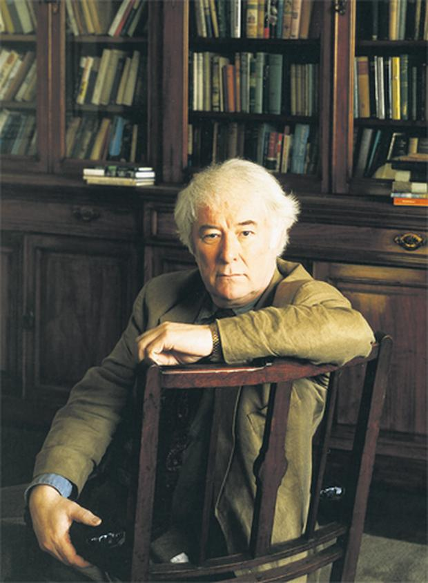 Fine Gael's presidential shortlist originally included poet Seamus Heaney but he declined to run