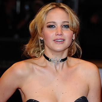 Jennifer Lawrence is excited about working on Hunger Games