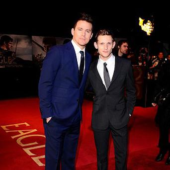 Channing Tatum and Jamie Bell joked about having a 'dance-off' on the set of The Eagle