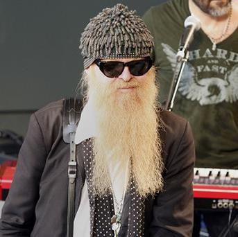 ZZ Top's Billy Gibbons at the SXSW fesitval