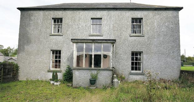The residence is a spacious farmhouse in need of modernisation
