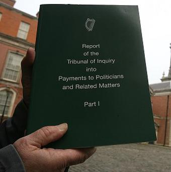 The second and final report of the Moriarty Tribunal has been published