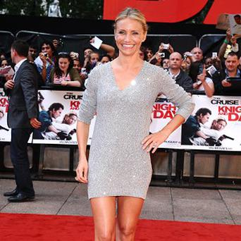 Cameron Diaz has been honoured for her acting skills