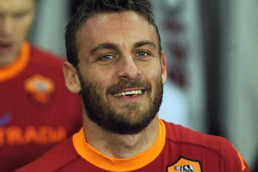 Daniele De Rossi Photo: Getty Images