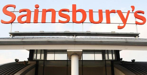Sainsbury's revealed a bigger-than-expected slowdown in sales growth as it highlighted the squeeze on consumer spending. Photo: PA