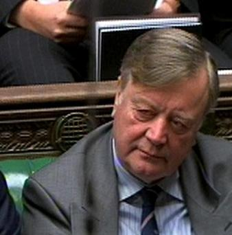 An official has denied Labour accusations that Kenneth Clarke nodded off during the Budget