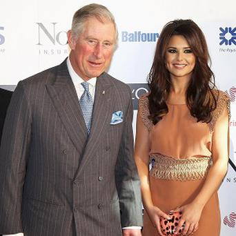 Cheryl Cole joined the Prince of Wales for a special awards ceremony