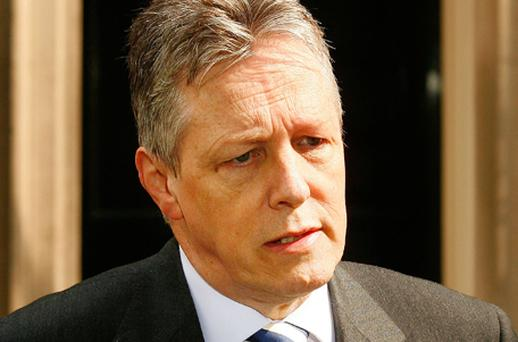 First Minister Peter Robinson welcomed the consultation as a good news day for the North. Photo: Getty Images
