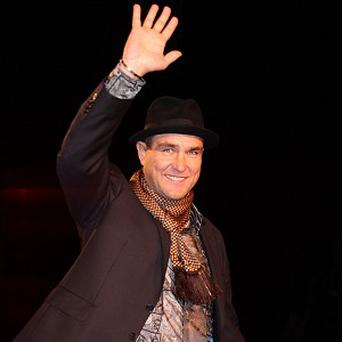 Vinnie Jones is starring as a silent assassin