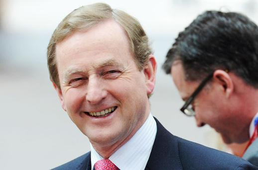 Enda Kenny. Photo: AP