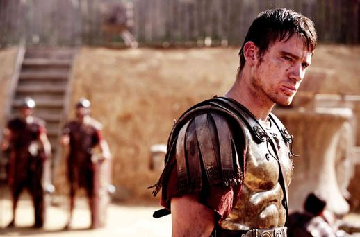 Channing Tatum playing Roman centurion Marcus Aquila in 'The Eagle'