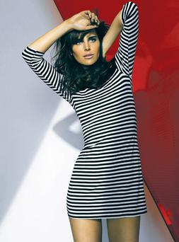Striped dress, €55, Wallis