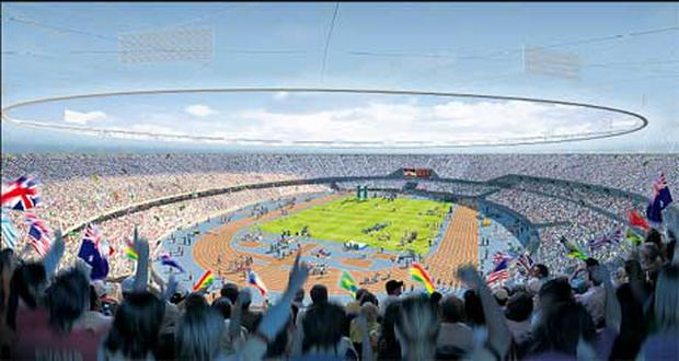 How the stadium will look inside