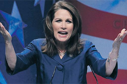 Michele Bachmann electrifies her audience last weekend in Washington, DC
