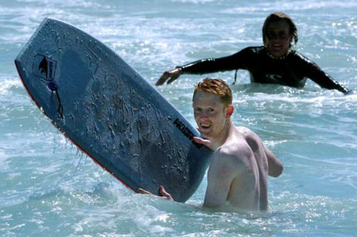 Colm Cooper in the sea in Perth during an International Rules trip, however, there will be fewer counties heading for beaches abroad for warm weather training this year.