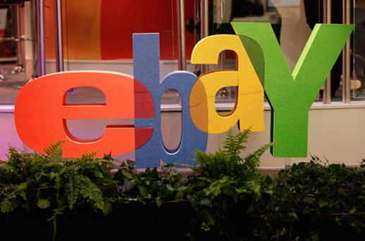 EBay shares fell on concerns it may be paying too much and might need to invest more money on GSI's technology. Photo: Getty Images
