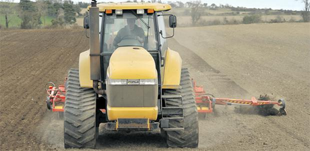 Machines have been busy in fields making the most of excellent sowing conditions
