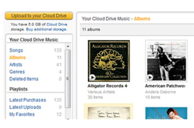 Cloud Drive: Users can upload their existing music library and thousands of other songs purchased through all online stores