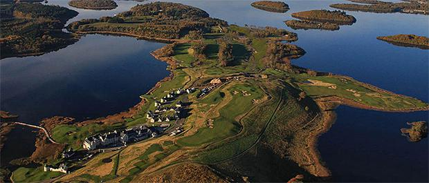 The Lough Erne resort in Co Fermanagh. Photo: PA