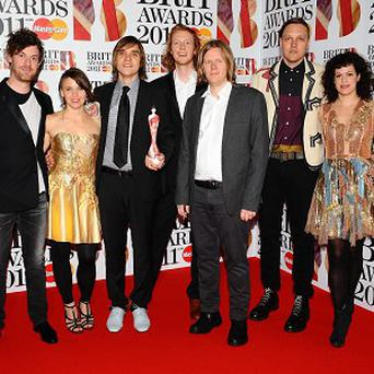 Canadian band Arcade Fire have picked up four Juno awards