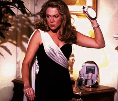 Kathleen Turner in the 1989 comedy 'War of the Roses'